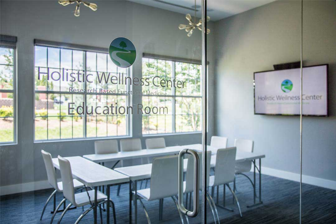 Holistic Wellness Center Education Room - charlotte autoimmune disorder treatment