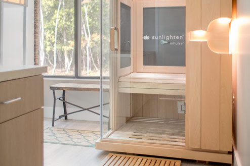 Our Infrared Sauna