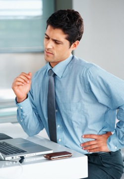 Man With Back Pain -
