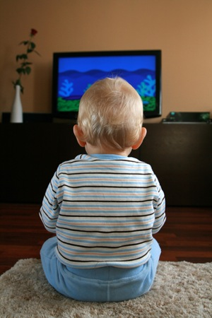 Child Watching TV - charlotte functional wellness