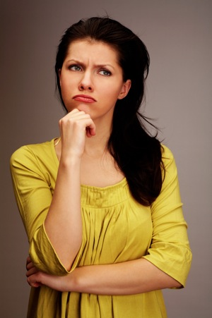 Confused Woman -