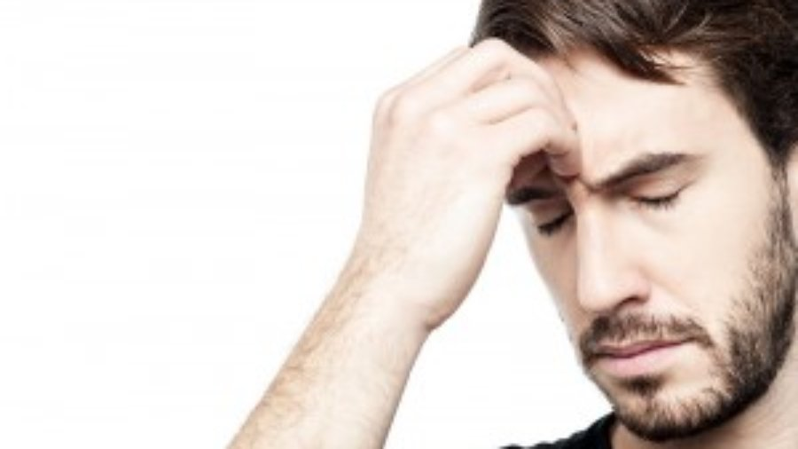 Stressed Out Man - autoimmune treatment in charlotte