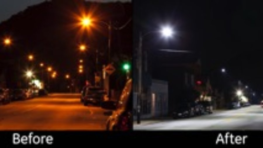 LED streetlights: Should you wear sunglasses at night?