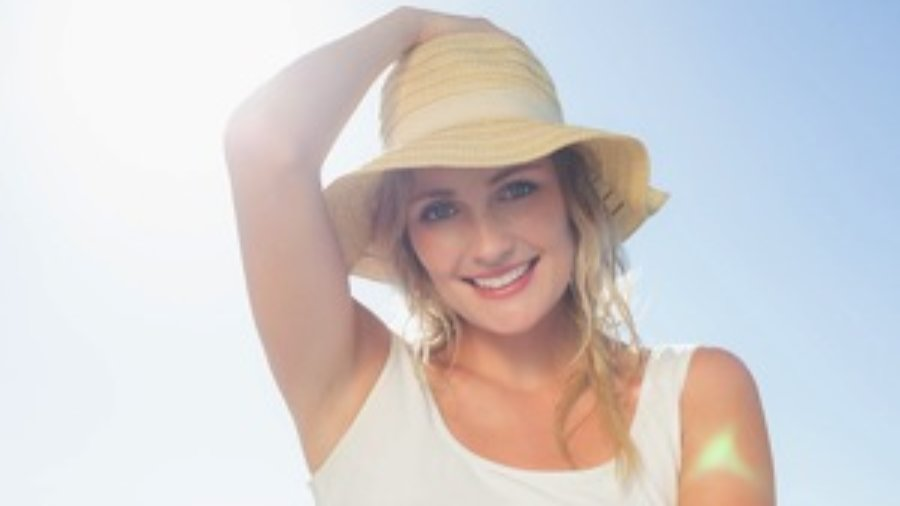 Smiling Woman In The Sun - charlotte hormone imbalance treatment