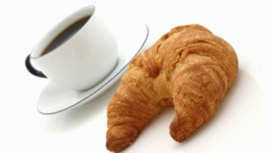 Coffee and Croissant - charlotte food sensitivity testing