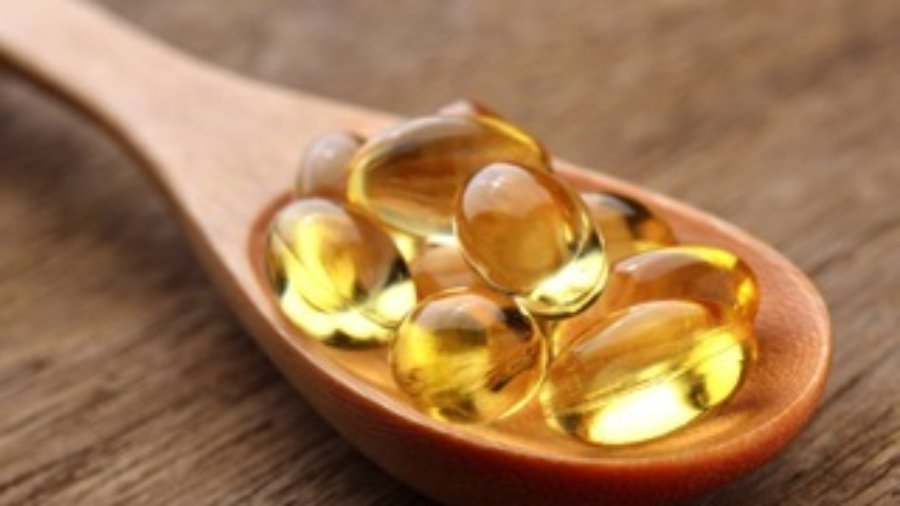 Fish Oil In Spoon - hormone imbalance treatment in charlotte
