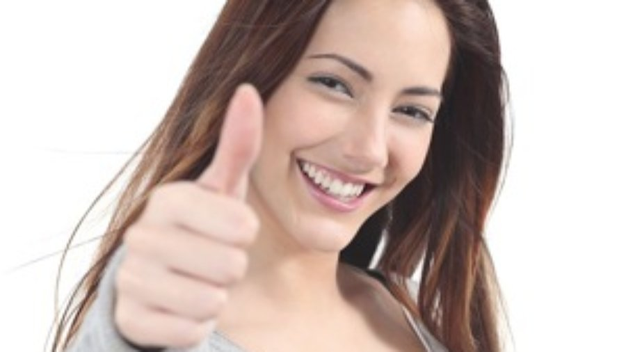 Woman Giving Thumbs Up - charlotte hormone imbalance treatment