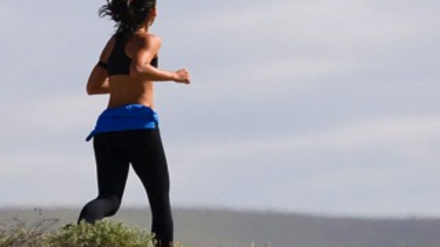 Woman Jogging - hormone imbalance treatment in charlotte