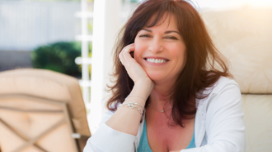 Smiling Woman - charlotte hormone imbalance treatment