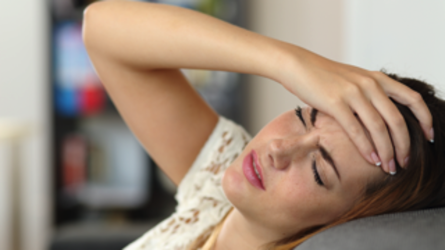 Woman With Headache - charlotte migraine treatment