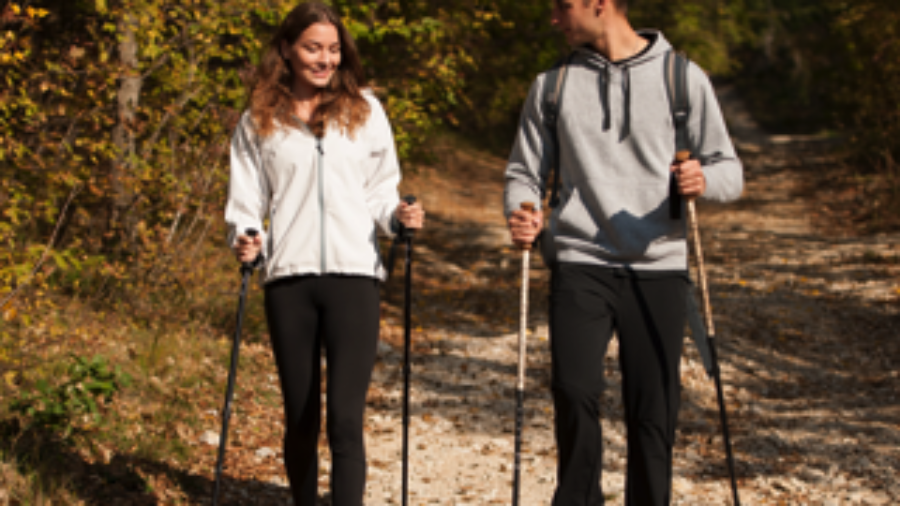 Couple Hiking - charlotte weight loss programs