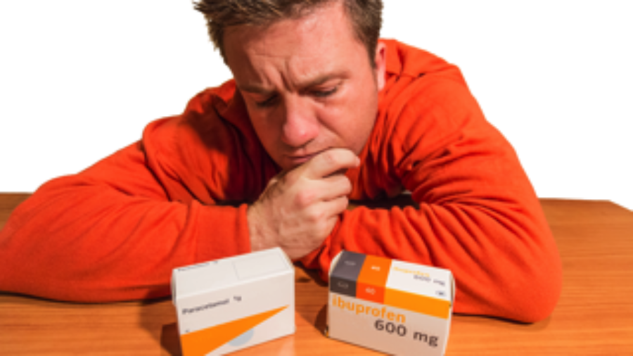Frustrated Man With Medication - crohn's disease treatment in charlotte