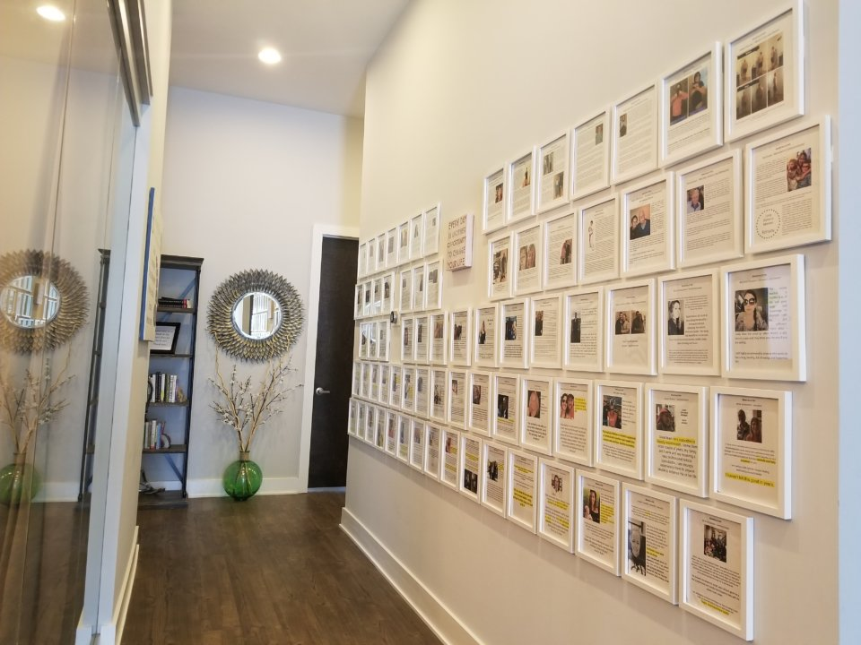 Wall of Framed Credentials - charlotte hormone imbalance treatment