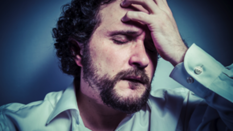 Frustrated Man - charlotte hormone imbalance treatment