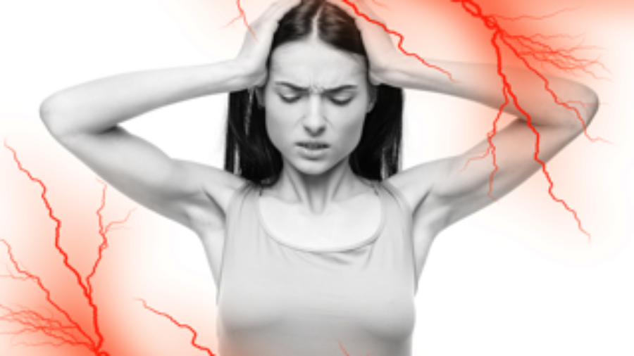 Woman With Headache - charlotte autoimmune disorder treatment