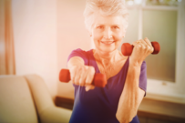 Weight training offers the most benefits for seniors