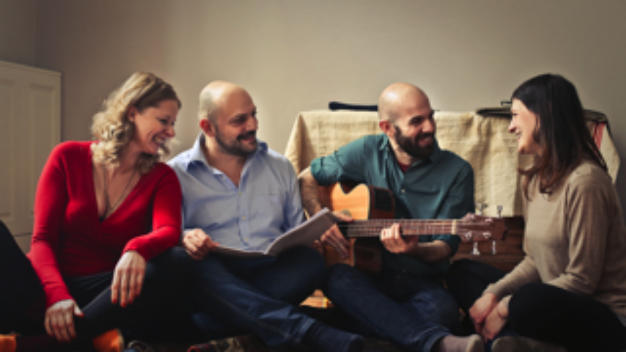 Sing your way to better brain health, ideally with others