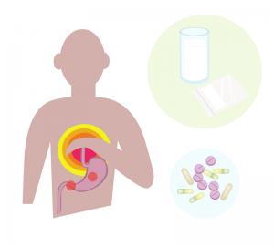 Pills & Digestion Graphics - charlotte crohn's disease treatment