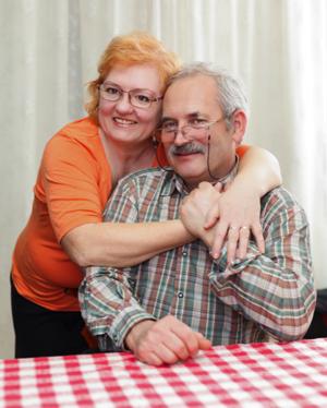 Older Couple Hugging - charlotte erectile dysfunction treatment
