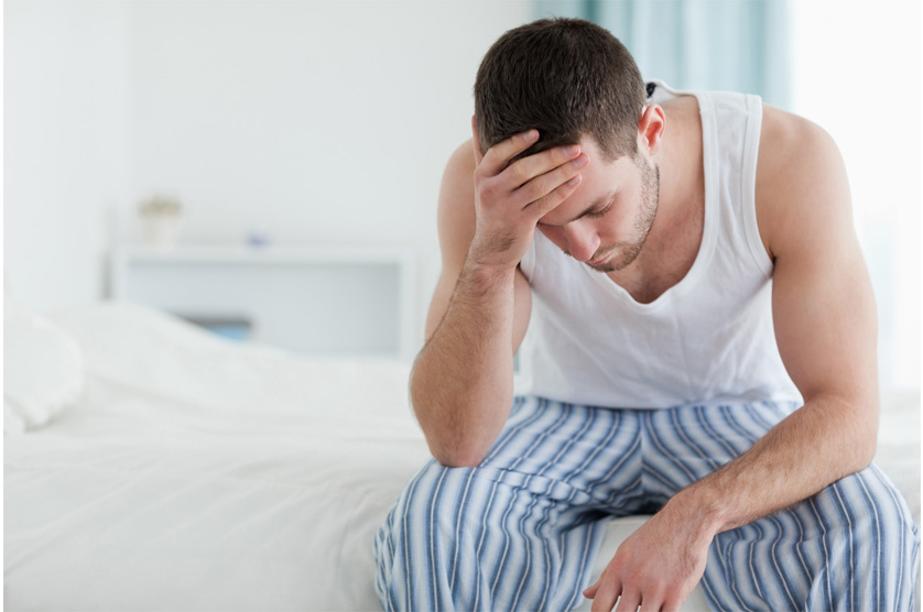 Tired Man - charlotte hormone imbalance treatment